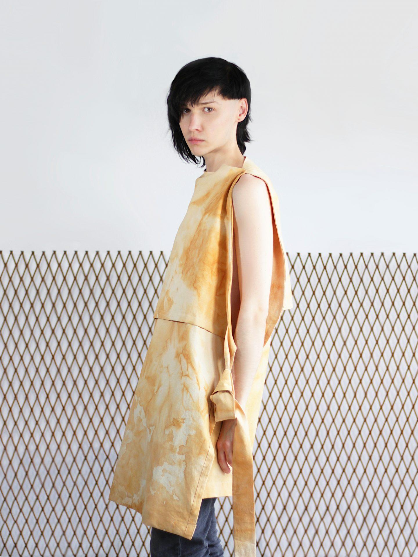 Yomi apron dress (a)