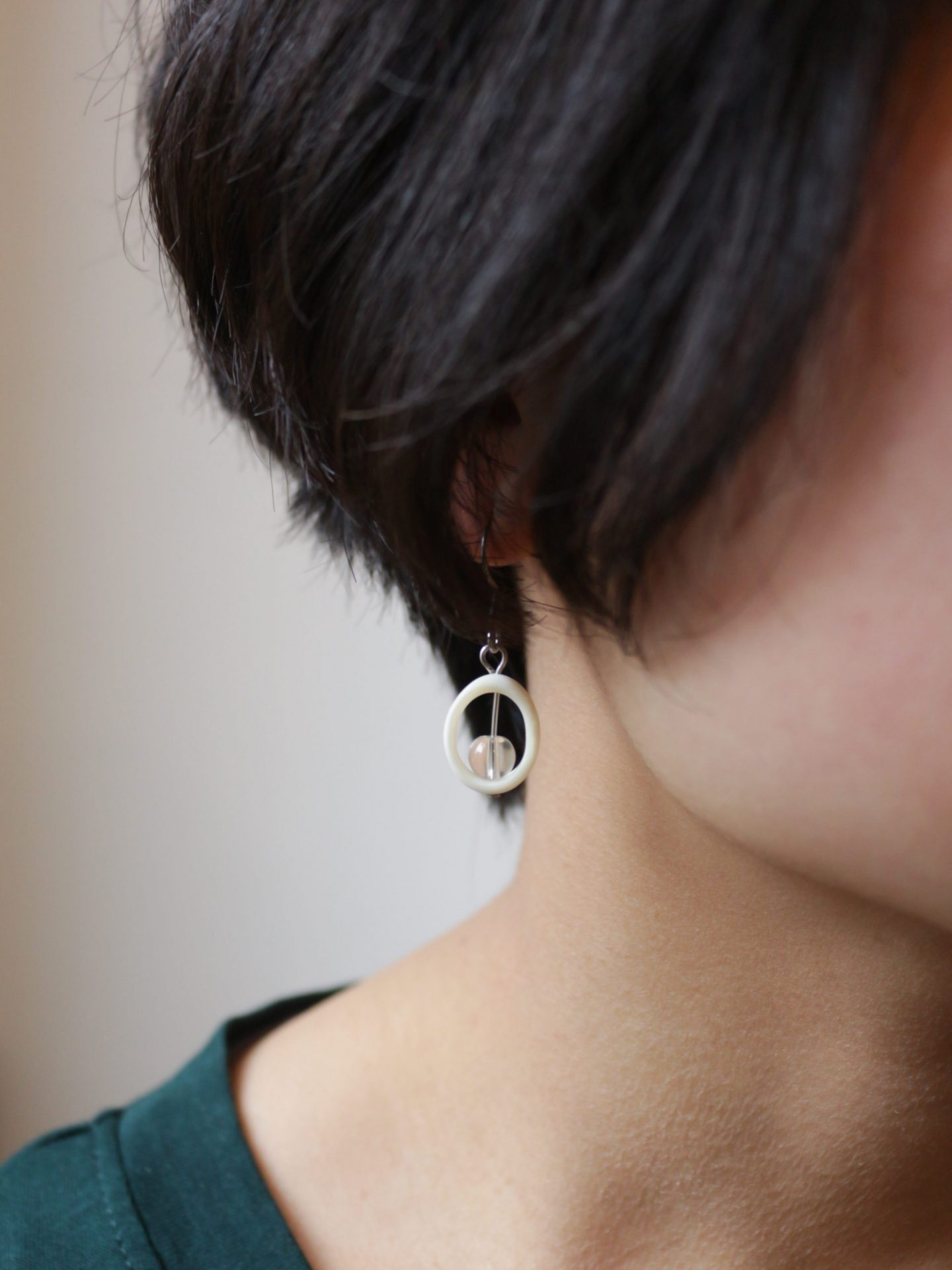Sheep Bone Earrings (Type B)