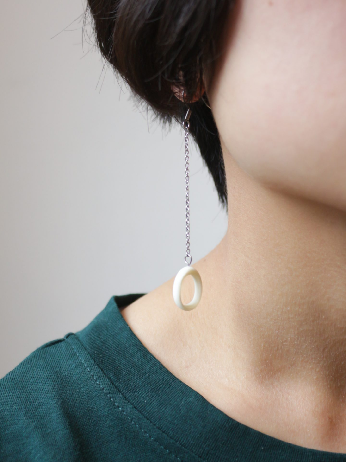 Sheep Bone Earrings (Type A)