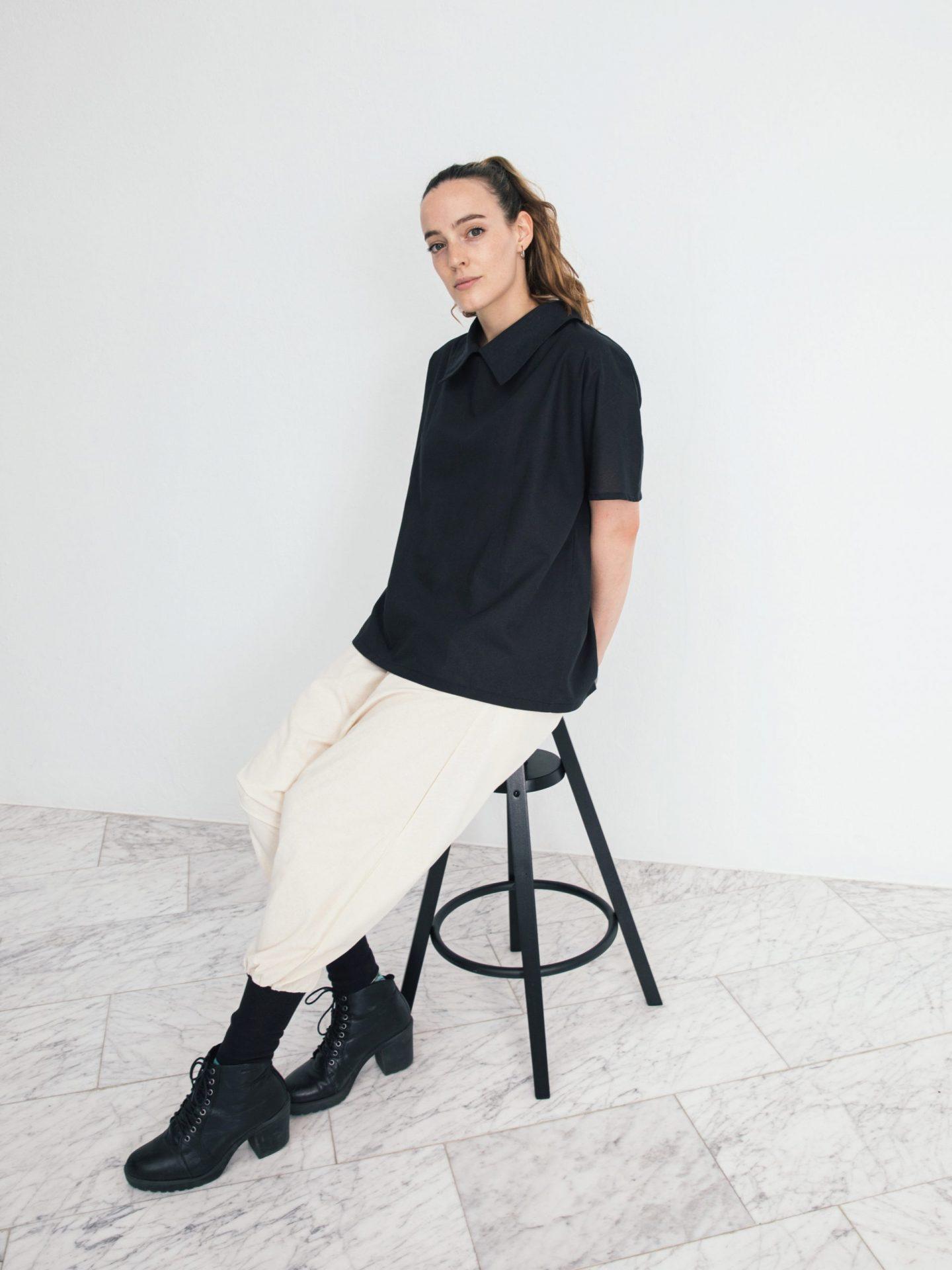 Originals Shirt Collar Tee (black)