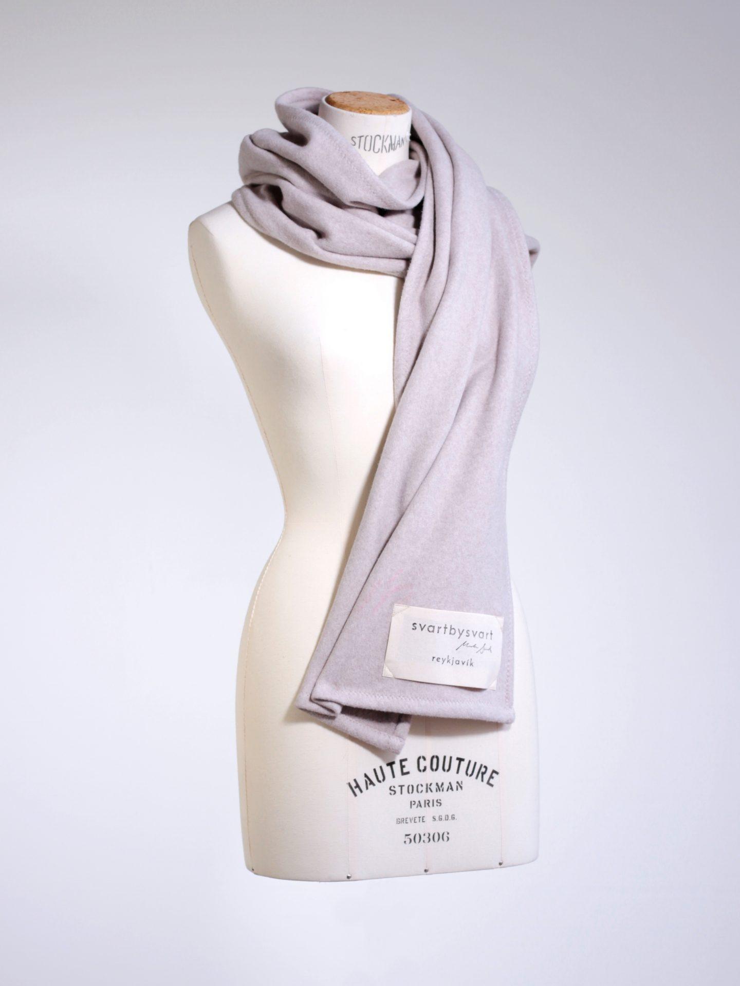 Svartbysvart organic cotton scarf