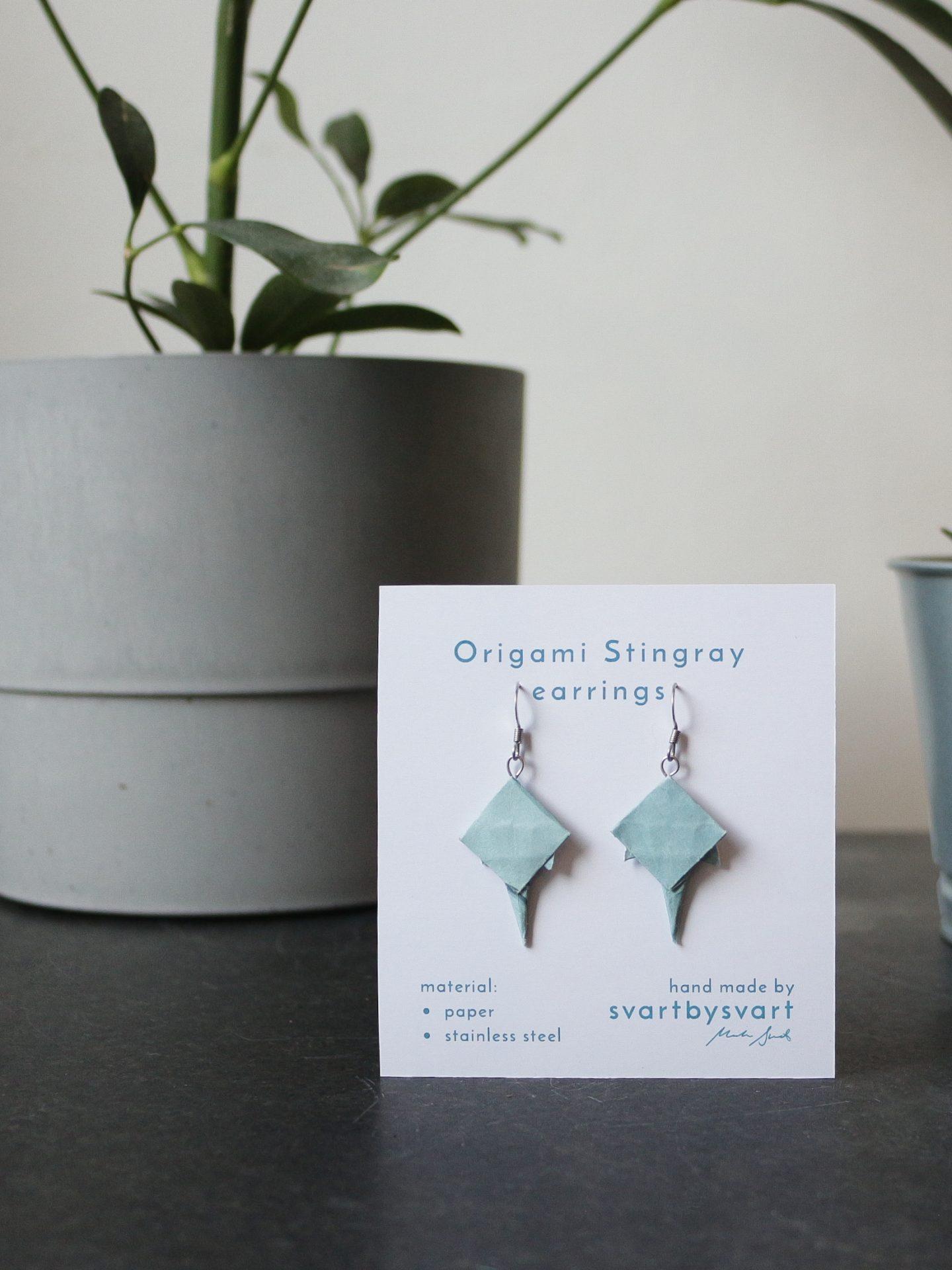 ORIGAMI STINGRAY Earrings